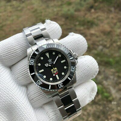 £99.99 • Buy STEELDIVE SD1954E SUBMARINER EAGLE 300M Auto Dive Watch *UK SELLER* *FREE STRAP