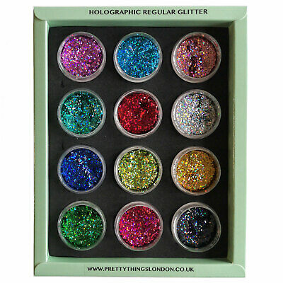 Regular Holographic Glitter For Paint Craft Resin Nail Art Glass  • 7.99£