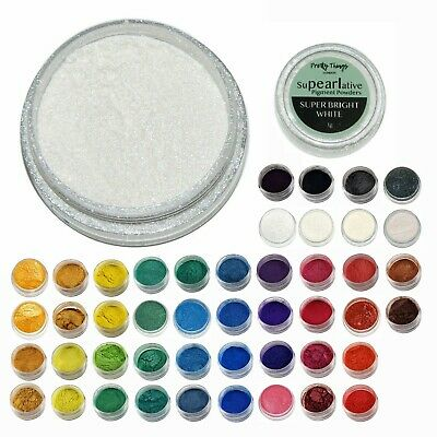 £2.99 • Buy Pearl Pigment Mica Powder Shimmer For Resin Soap Wax Paint Sparkle Dye 3g To 50g