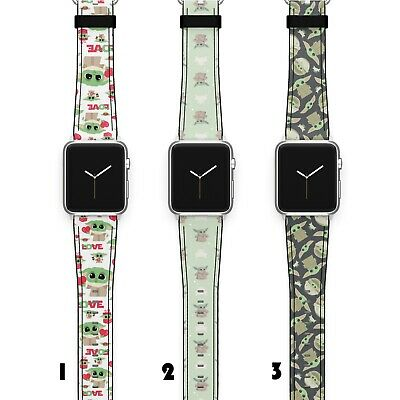 $ CDN22.55 • Buy Grogu Apple Watch Band 38 40 42 44 Series SE 6 5 1 2 3 4 Wrist Strap IWatch SN23
