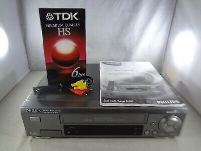 AU103.34 • Buy Philips VR 960B SVHS VHS 4 Head Player Recorder - No Remote - Tested/Working