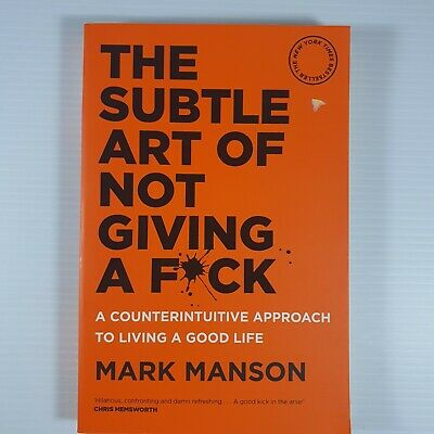 AU21.99 • Buy The Subtle Art Of Not Giving A F*ck: A Counterintuitive Approach To Living A Go…