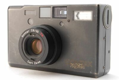 $ CDN2645.38 • Buy CONTAX T3 70th Limited Titan Black Carl Zeiss Sonnar 35mm F2.8T* Used Rare