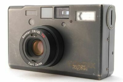 $ CDN2801.61 • Buy CONTAX T3 70th Limited Titan Black Carl Zeiss Sonnar 35mm F2.8T Used Rare