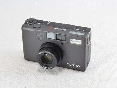 $ CDN4408.14 • Buy CONTAX T3 Black Carl Zeiss Sonnar 35mm F2.8T Used Ex Rare