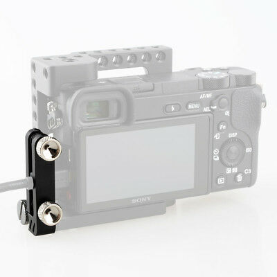 $ CDN16.19 • Buy CAMVATE HDMI Cable Clamp Lock With Screw Holes For Sony A6500 A6400 A6600 Cage