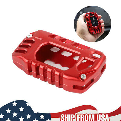 $21.09 • Buy For Jeep Wrangler JL JT Gladiator 2018+ Red Key Fob Cover Case Protector Shell