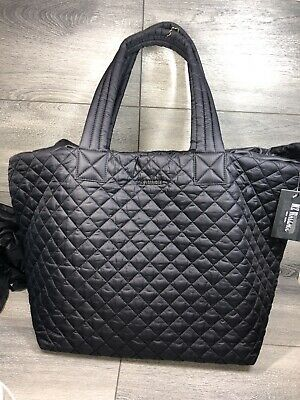 AU301.50 • Buy Mz Wallace Large Metro Tote Nylon Black $235.00 #126SW