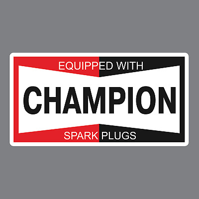 $3 • Buy Champion Auto Parts Sticker/Decal * Racing * Spark Plugs * Vintage * Classic