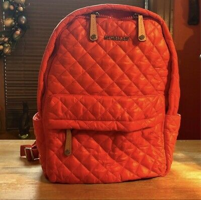 AU196.63 • Buy MZ Wallace Zesty Orange Metro Backpack