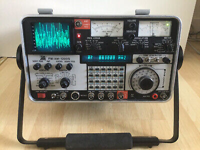 "Ifr Fm/am-1200s Communication Service Monitor. ""spares Or Repair"" • 650£"