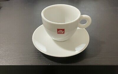 £21.47 • Buy ILLY Logo Cappuccino Cups & Saucers (Set Of 1) - 6 Oz./each
