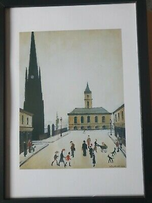 £6.99 • Buy L.s Lowry  Stow On The Wold  Framed Print