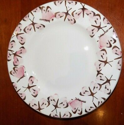 Emma Bridgewater  PINK  CABBAGE WHITE BUTTERFLY   PLATE   8.5    NEW  • 22£