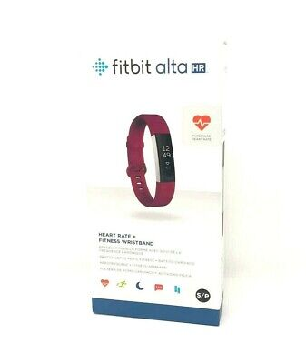 $ CDN189.51 • Buy Fitbit Alta HR Fitness Activity Tracker With Heart Rate - Fuchsia - Large NEW