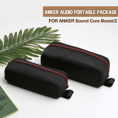 AU17.52 • Buy Portable Hard Zipper Carrying Case Cover Bag For ANKER Sound Core 1 & 2  *CN*