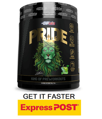 AU64.50 • Buy Ehp Labs Pride Pre Workout 40 Serves // Oxyshred Pump Focus Energy FAST EXPRESS
