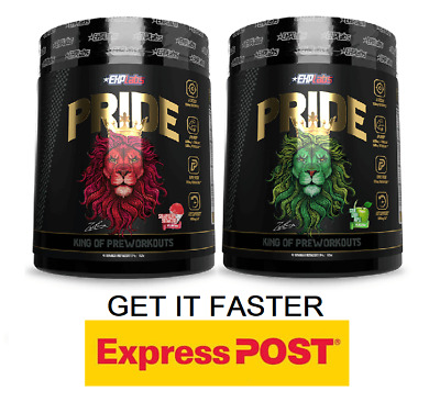 AU119.90 • Buy Ehp Labs Pride Pre Workout 40 Serves X2  // Oxyshred Pump Focus Energy Twin Pack