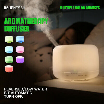 AU21.99 • Buy 2021 Aromatherapy Diffuser LED Essential Oil Ultrasonic Air Humidifier Purifier