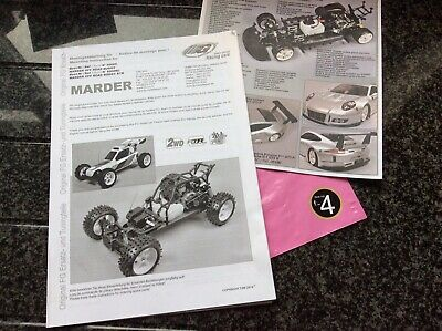 £20 • Buy Fg Marder Manual  New  - ( From New Car ) 📦