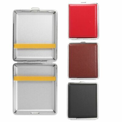 Faux Leather Cigarette Case Straight Roll Up Tobacco Cigar Holder Pocket Size-UK • 3.65£