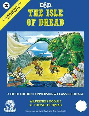AU68.95 • Buy D&D 5th Edition: Original Adventures Reincarnated #2 - The Isle Of Dread (HC)