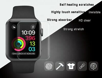 AU2.29 • Buy For Apple Watch Screen Protector For Series 6/5/4/3/2 SE IWatch 44/40/42/38mm
