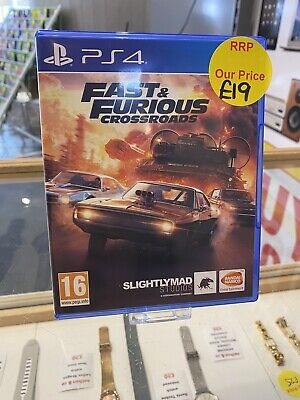 £18 • Buy Fast And Furious Cross Roads - PS4
