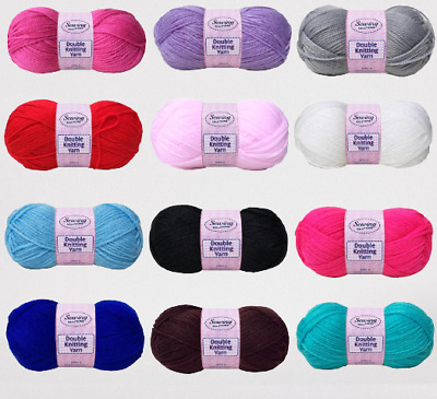 Sewing Solution Double Knitting Wool Yarn 100g E . • 1.49£