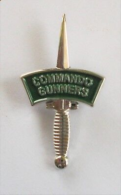 £6.95 • Buy Commando Gunners Dagger And Patch Lapel Pin Or Walking Stick Mount