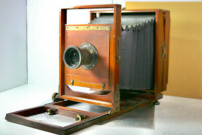 £912.65 • Buy 8X10 Wooden Film Camera ( No Name ) Vintage 1800's To Early 40's