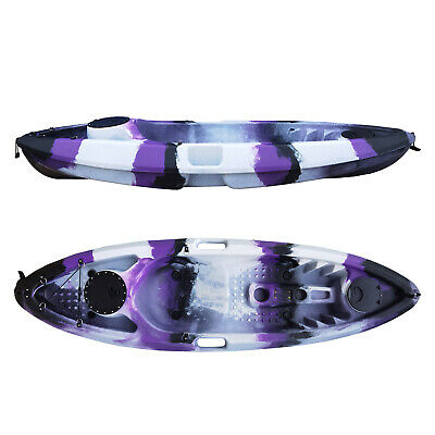 AU325 • Buy  Sit On Top Fishing Kayak ,Mid Size ,Paddle & Seat Back Included Great Colours