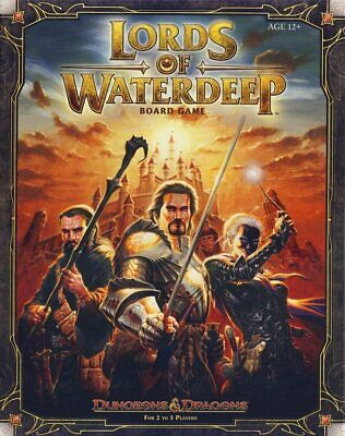 AU49.99 • Buy Dungeons And Dragons (D&D) Lords Of Waterdeep Strategy Board Game BRAND NEW