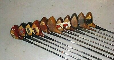 $69.90 • Buy 11 Misc MacGregor Persimmon Woods  Armour Nelson Tourney Burke M33 Nicklaus
