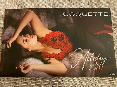 $24.99 • Buy Coquette Lingerie Catalog Fashion 2020 Holiday Collection New 99 Pages SALE