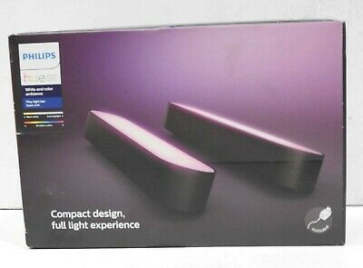 AU169.99 • Buy Philips - Hue Play White & Color Ambiance Smart LED Bar Light Double Pack Black