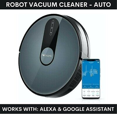 View Details Proscenic 820S Robot Vacuum Cleaner Automatic Hoover - Works: Alexa & Google  • 119.00£