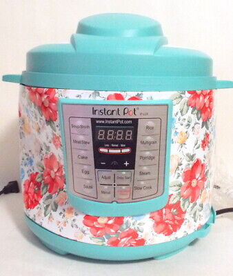 $ CDN122.61 • Buy DENTED The Pioneer Woman Instant Pot LUX60 6 Qt Vintage Floral Pressure Cooker