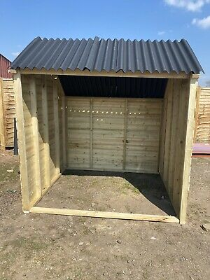 Animal Field Shelter  7ft X 6ft X 6ft Sheep /Goat /Pony /Pig Mobile/Static • 300£