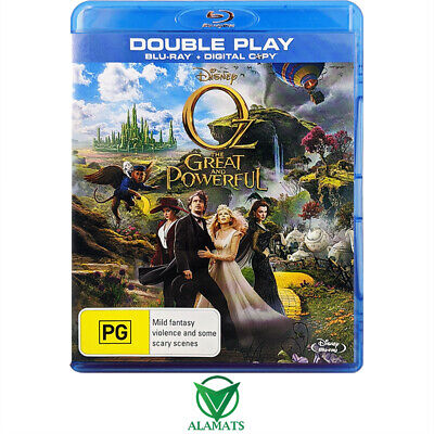 AU6.95 • Buy Oz The Great And Powerful James Franco Bluray [B]