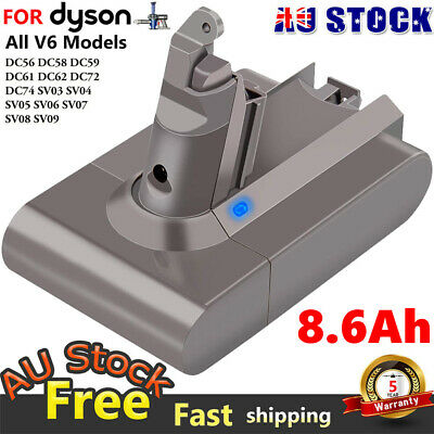AU30.95 • Buy Replacement Battery For Dyson V6 Series Vacuum Cleaner SV03 SV06 DC58 DC59 DC61