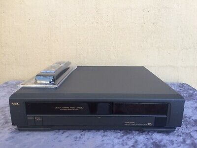 AU79.50 • Buy Serviced NEC VN-22 Video Recorder Player REMOTE VCR