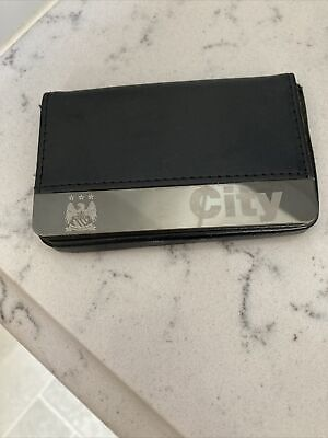 £10 • Buy Man City Season Ticket Holder Credit Card Travel Card Faux Leather Magnetic