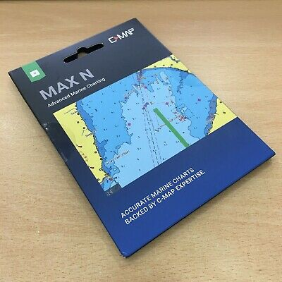£210 • Buy C-Map MAX-N Chart Northern & Central Europe Continental M-EN-N050-MS