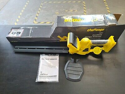 £40 • Buy Challenge Hedge Trimmer MAIN UNIT BODY NO Battery NO CHARGER Cordless 18v