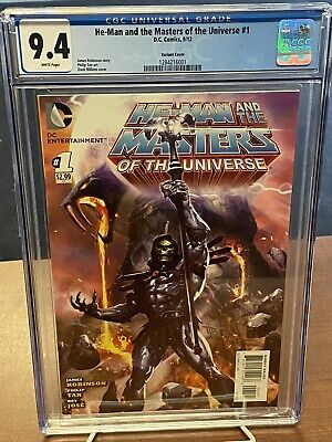 $1200 • Buy Unpressed He-Man The Masters Of The Universe 1 Wilkins Variant CGC Graded No 9.8