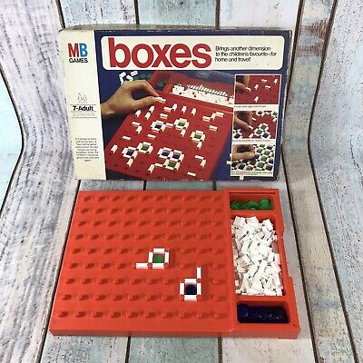 £9.99 • Buy Vintage BOXES Board Game RARE Family Home Travel MB 1976