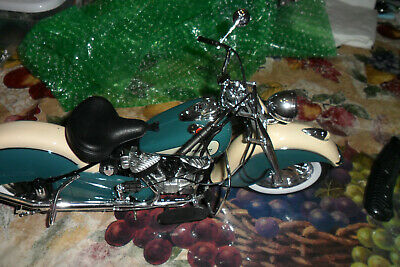 $80 • Buy NEW RAY 1948 Indian Chief Motorcycle 1:6 Bike Collection NO BOX LOT 0 0 0 11