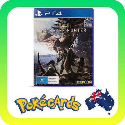 AU16.88 • Buy Monster Hunter World (PlayStation 4 PS4)