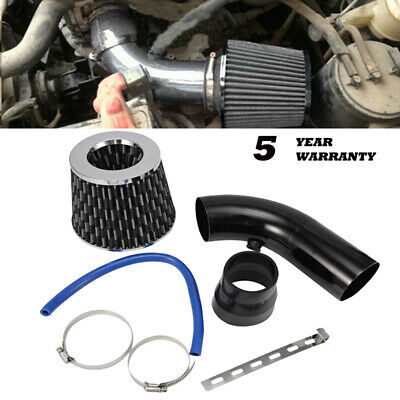 $40.37 • Buy 3  Car Cold Air Intake Filter Alumimum Induction Kit Pipe Flow Hose System Black